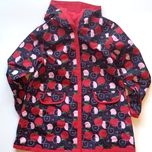Girls Gymboree apple raincoat. Size: 7/8. The Rookery Kids. $12.50..