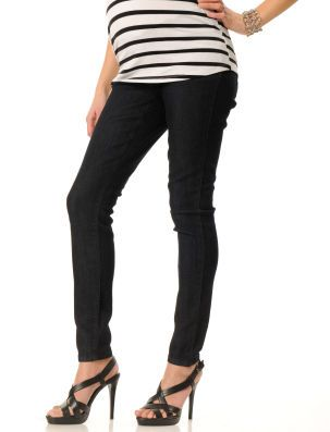 Loved by Heidi Klum Under Belly Super Stretch Slim leg maternity jeans. Destination Maternity. $29.99.