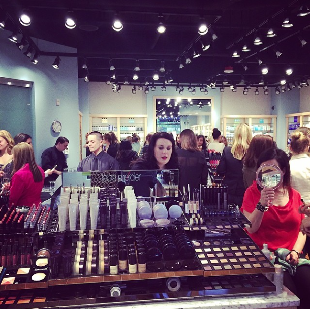 Lots of excitement at the Seattle Bluemercury VIP store launch.