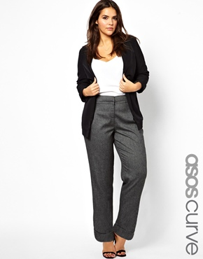 ASOS CURVE Exclusive Tailored Trouser in Loose Fit. ASOS. $75.26