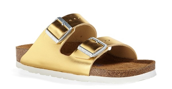 Birkenstock Arizona Soft Footbed leather sandals. Available in multiple colors. Nordstrom. $129.95.