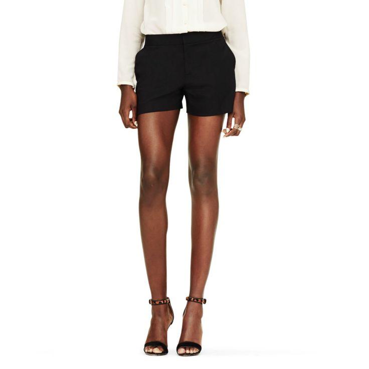 Trina Wool short. Available in black, grey. Club Monaco. $149.50.