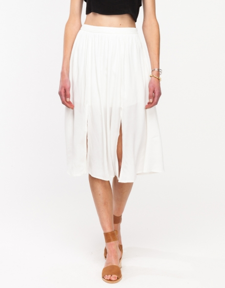 Imperial skirt. Available in black, white. Need Supply. $68.