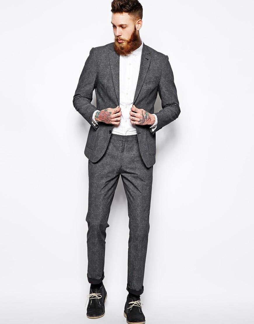 ASOS Slim Fit blazer in ditsy floral. ASOS. $141.11.