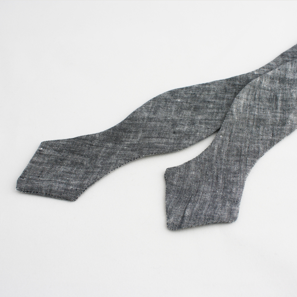 Up close and personal. Loving linen bow ties for warmer weather. Winslow ties. $45.