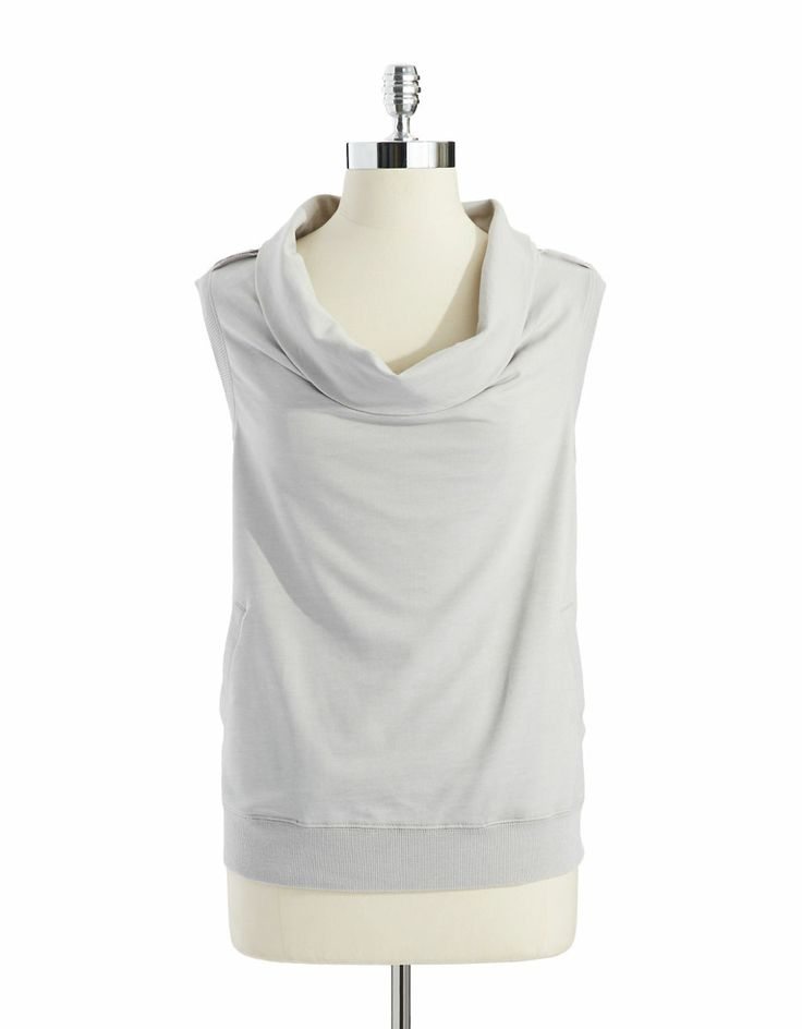 DKNY Jeans Cowl neck top. Lord and Taylor. $59.50.
