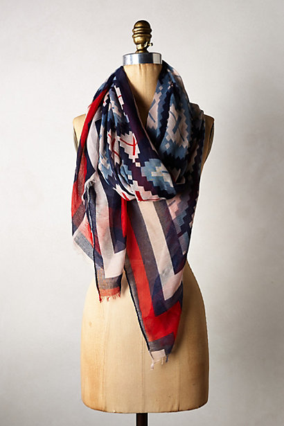 Veracruz scarf. Anthropologie. $48.