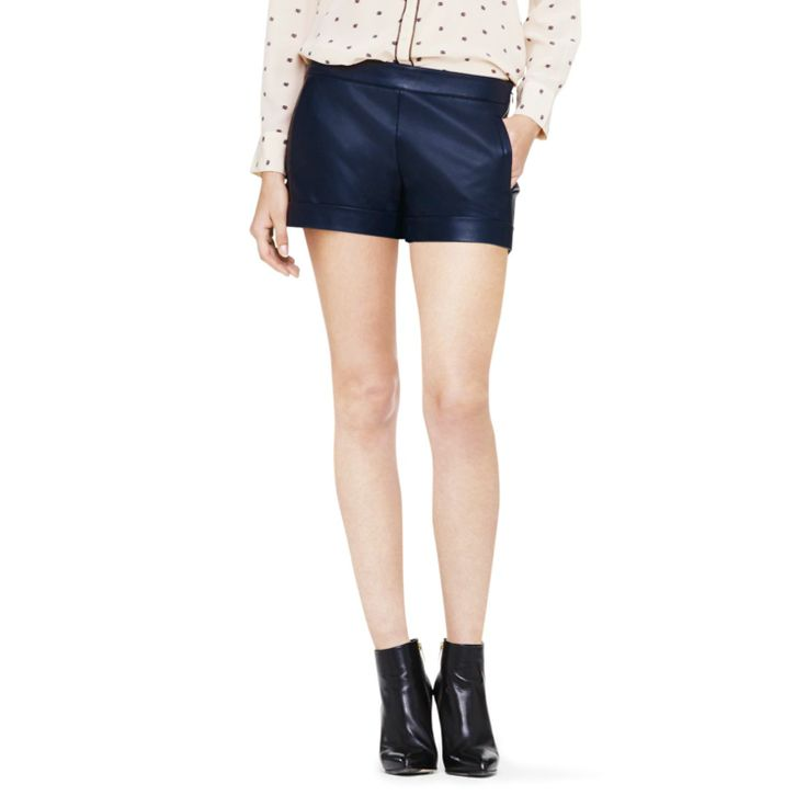Georgia faux leather short. Club Monaco. Was: $129.95. Now: $89.