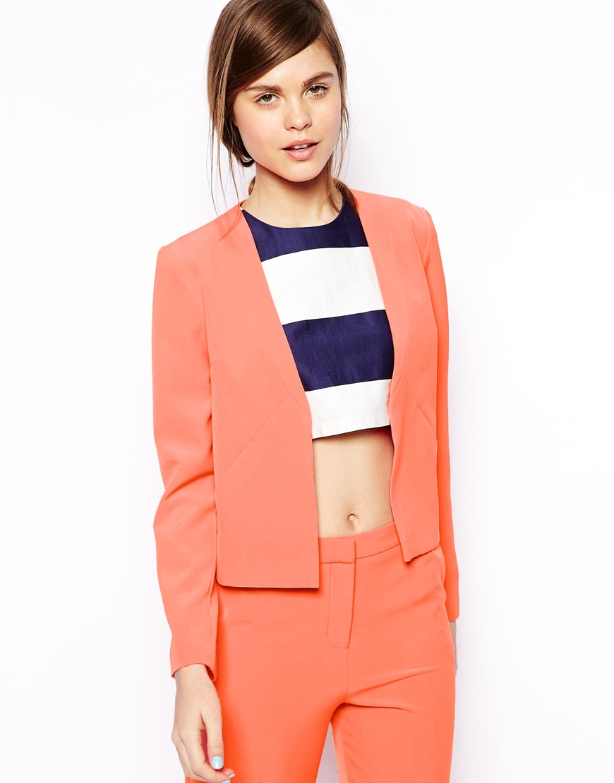 ASOS Soft blazer with clean lapel. ASOS. $66.69.