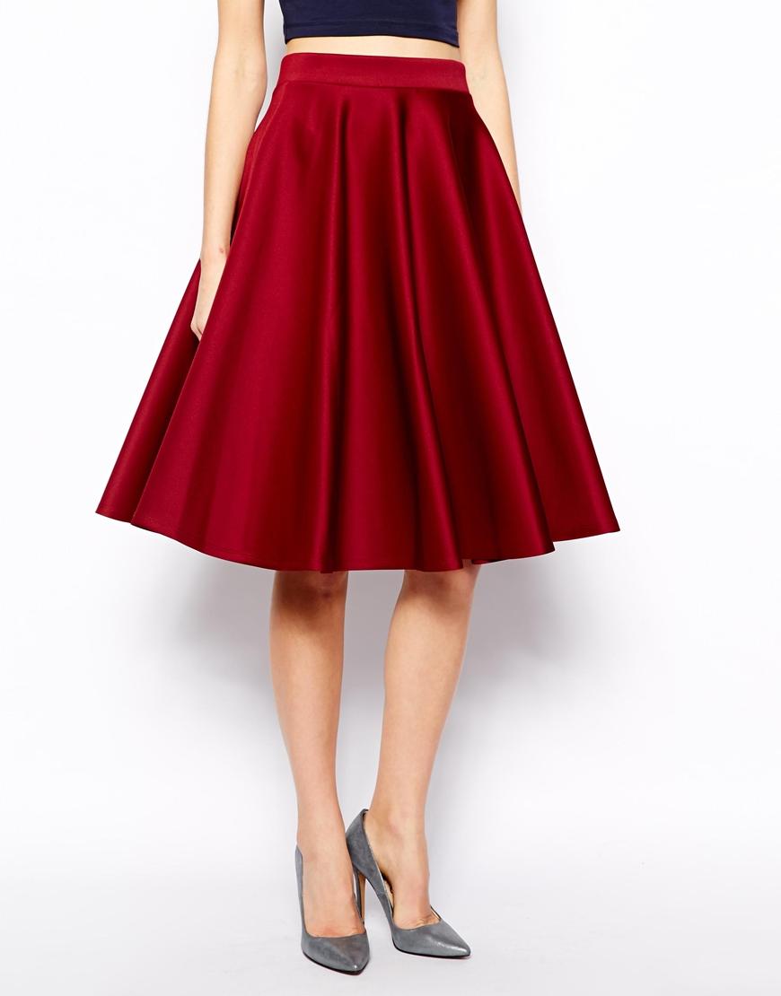 Full Skirt in Scuba with Pockets. ASOS.com. $65.85.