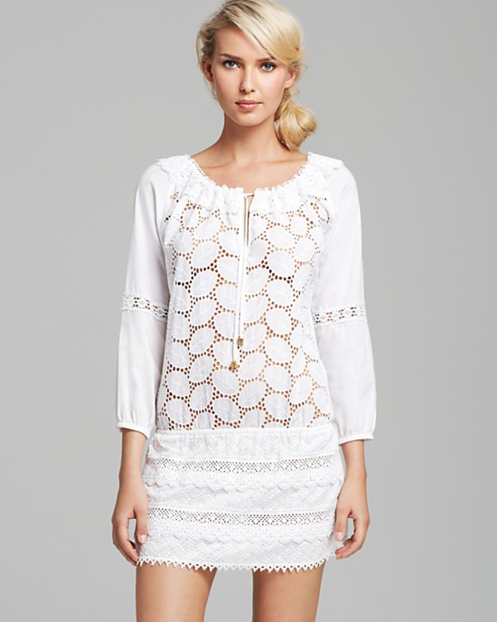 OndadeMar Light Gaia cover up dress. Bloomingdales. $168.