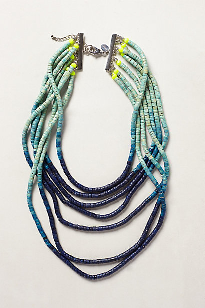 Ombre beaded necklace. Anthropologie. $52.