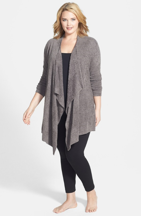 Barefoot Dreams Bamboo Chic Drape Front Cardigan. Nordstrom. $94.00