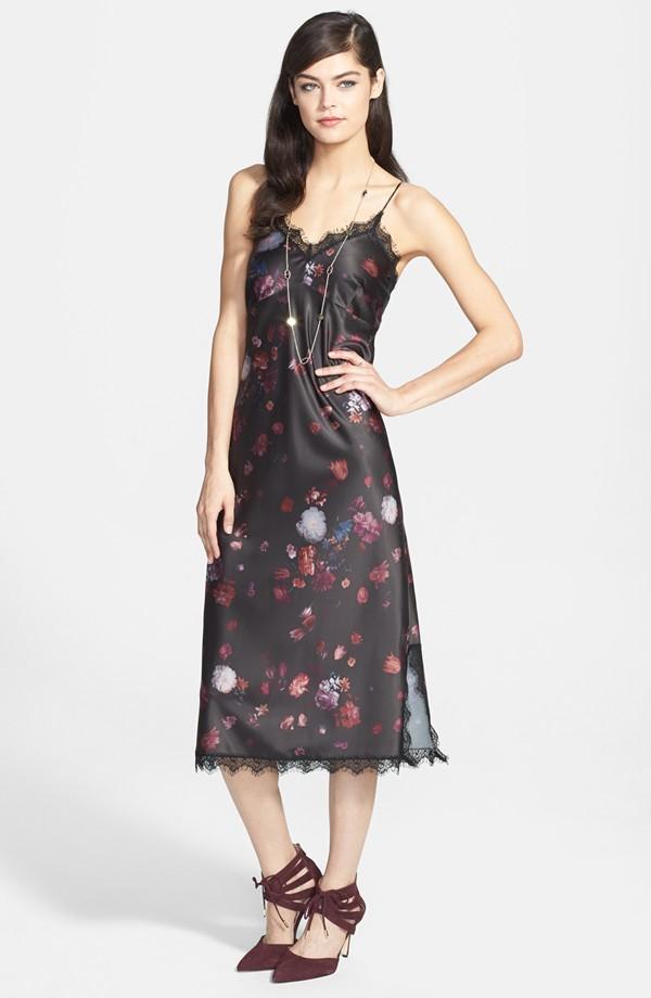 Chelsea28 Floral print slip dress. Nordstrom. Anniversary price: $78.90 After sale: $118.