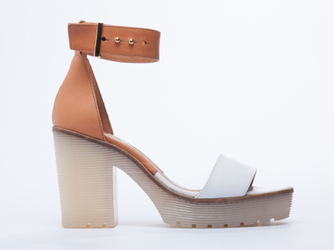 To Be Announced Trinidad. Available in three color combinations. Solestruck. $189.95. I got black last winter, but am obsessed with this nude/white color combo. Perfect for summer!