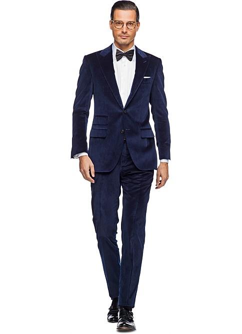 Suit Navy Plain Washington P3704i. Suit Supply. $469.