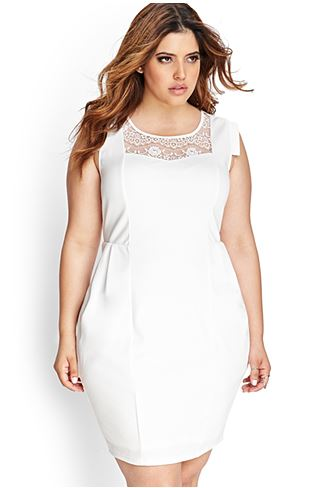 Ornate Lace Bodycon Dress. Forever 21+. $22.80