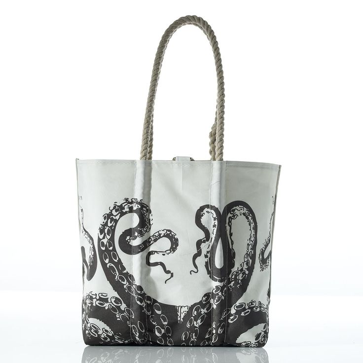 Sea bags medium octopus tote. Species line. Sea Bags. $150.
