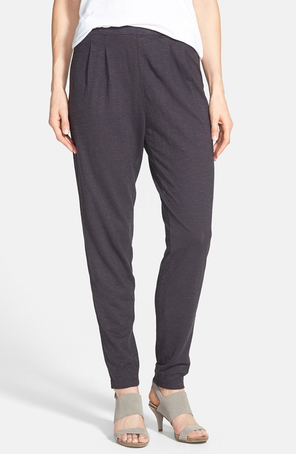 Eileen Fisher Hemp & organic cotton pleat slouchy pants. Nordstrom. $148.