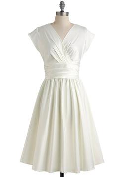 Love You Ivory Day Dress. Modcloth.com. $89.99.