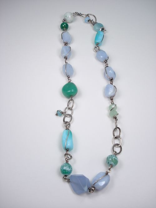 Dreaming of the Sea Necklace. Jill Griffin Jewelry. $185.