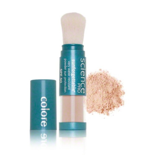 Colorscience Sunforgettable SPF 50 Loose Mineral Powder Protection Sunscreen Brush - Medium Matte. Cake SkinCare. $62.