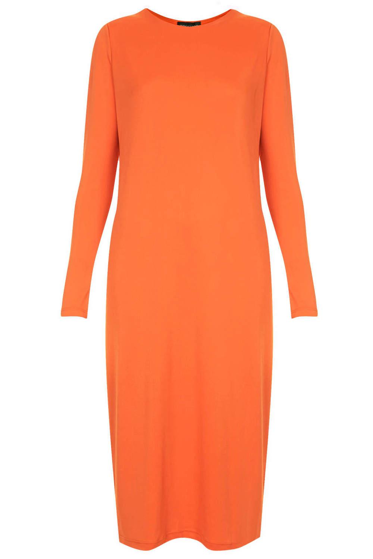 Topshop Jersey sheath midi dress. Topshop USA. $64.