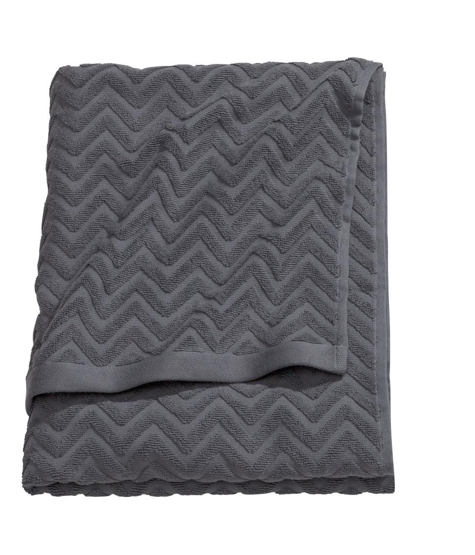 Bath Towel. Multiple colors available. H&M. $12.95.