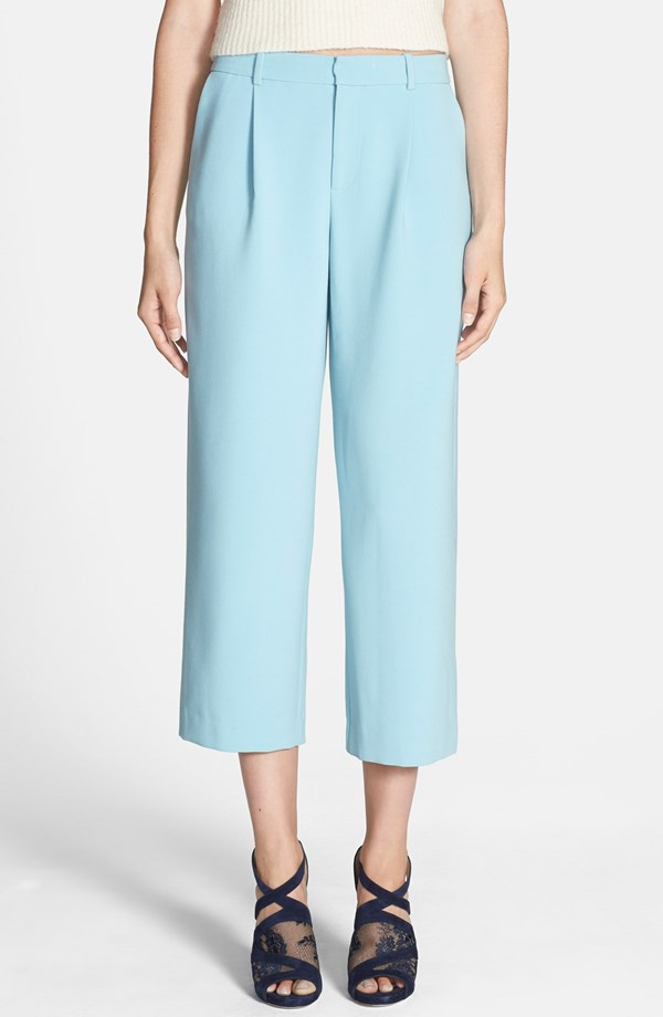 Chelsea28 Wide Leg Crop Pants. Nordstrom. Available in blue basalt, cream cloud. Nordstrom. $88.