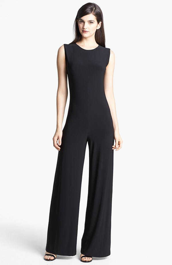 Effortless look for a long waisted lady. KAMALIKULTURE Wide Leg Jersey Jumpsuit. Nordstrom. $99.