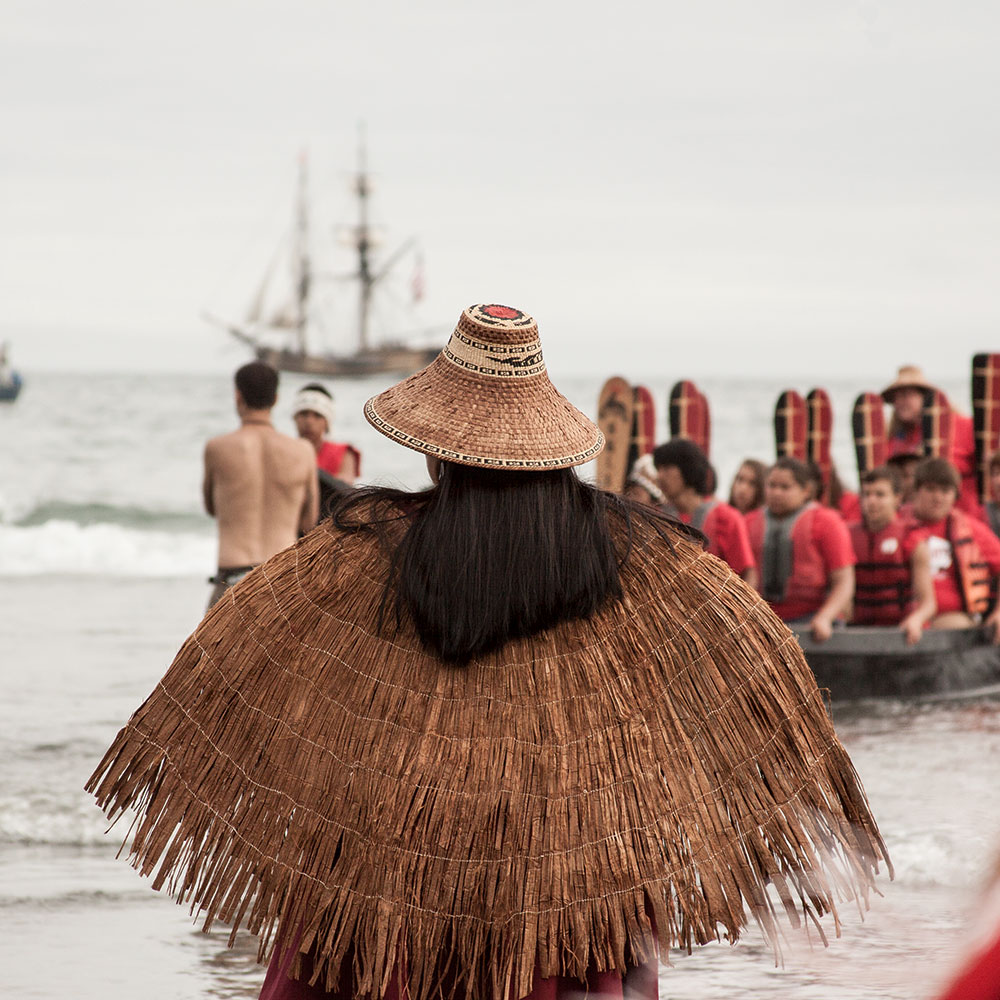 Canoe Welcome. Photography by  Selena Kearney.