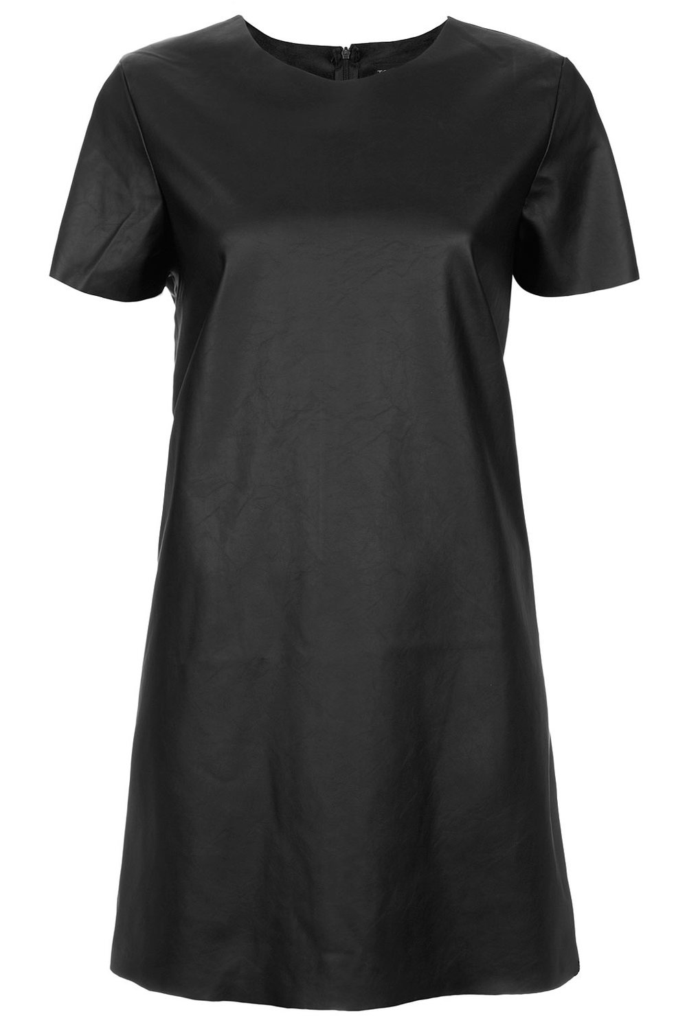 TopShop Leather look T shirt dress. TopShop. Was: $100 Now: $30.