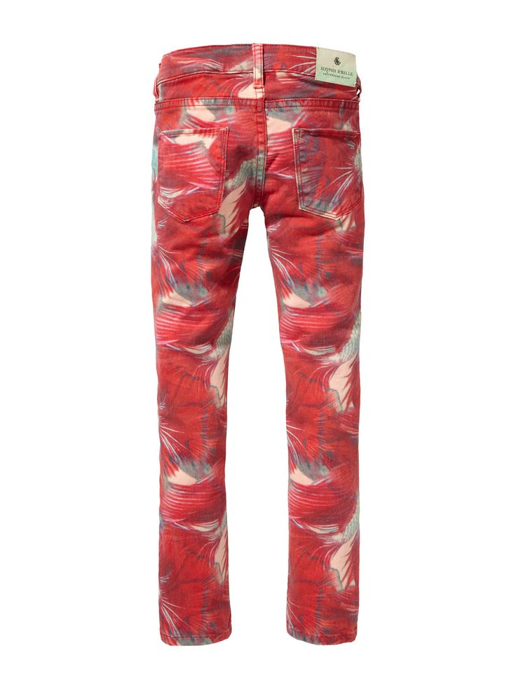 Girls Voyage Tropical Fish Denim pants. Scotch & Soda. Was: $120 Now: $60.