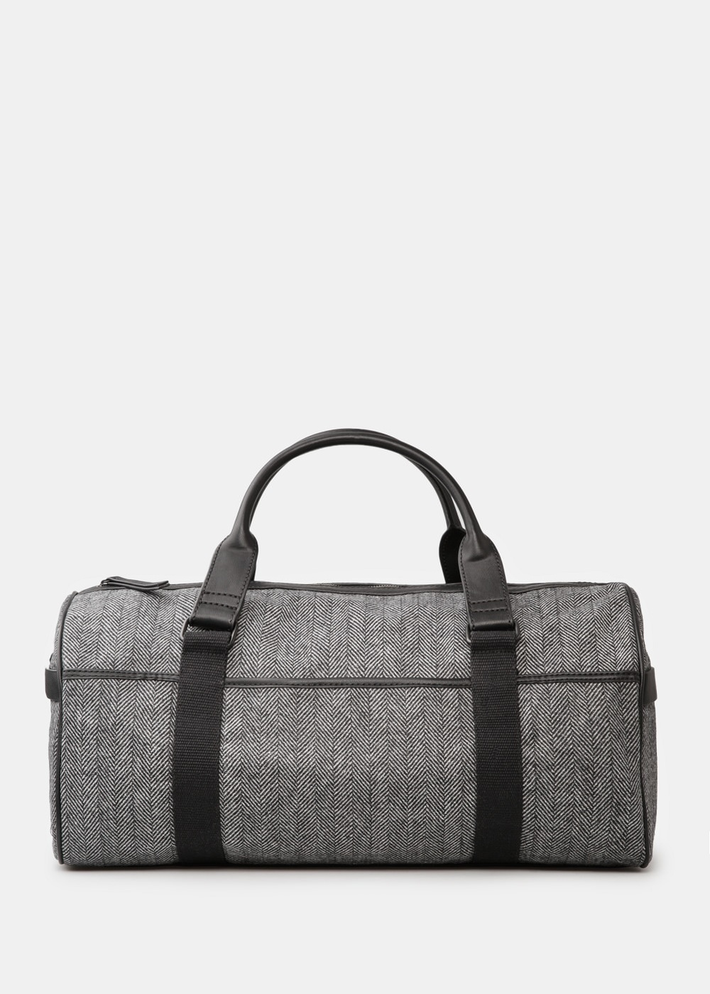 Another current obsession: the perfect weekender for a man. Herringbone Weekend Bag. Mango. $109.99.