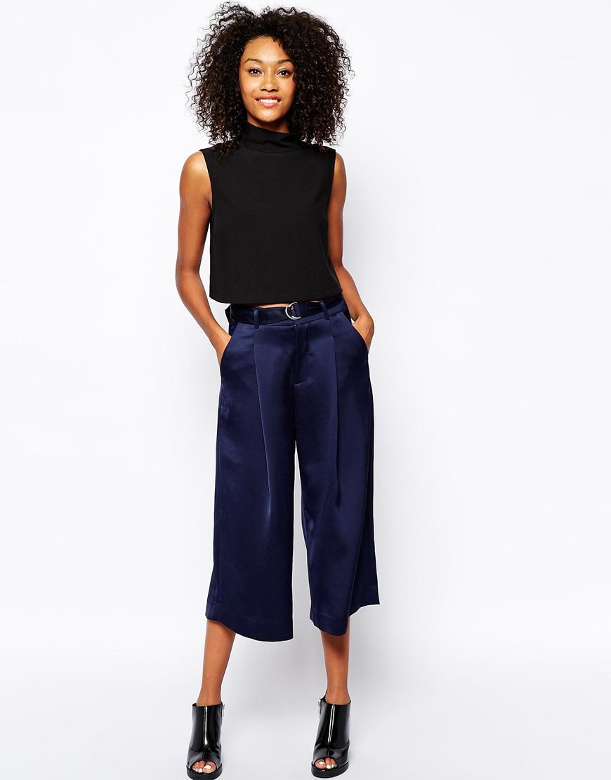 Monki Wide Leg Belted Pant at ASOS. ASOS. $75.80.