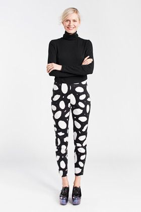 Marimekko Niks Pant. Marimekko. $195. Marimekko also makes me happy, as do bold print pants. Who says dresses should have all the fun?