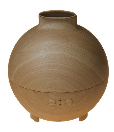 Original AromaCare 600ML Pod Shaped Wood Grain Aromatherapy Diffuser Ionizer Ultrasonic Humidifier. Amazon. $51.59.