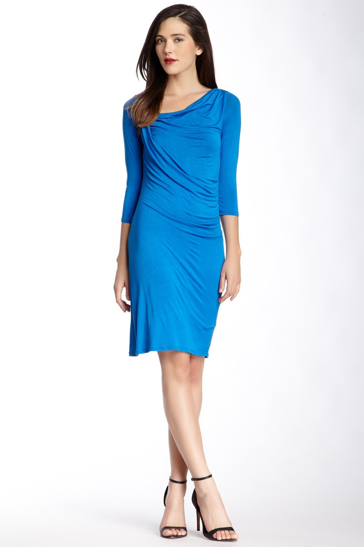 Weston Wear Renee Solid Mid-Length Sheath Dress. Nordstrom Rack. Was: $114 Now: $36.