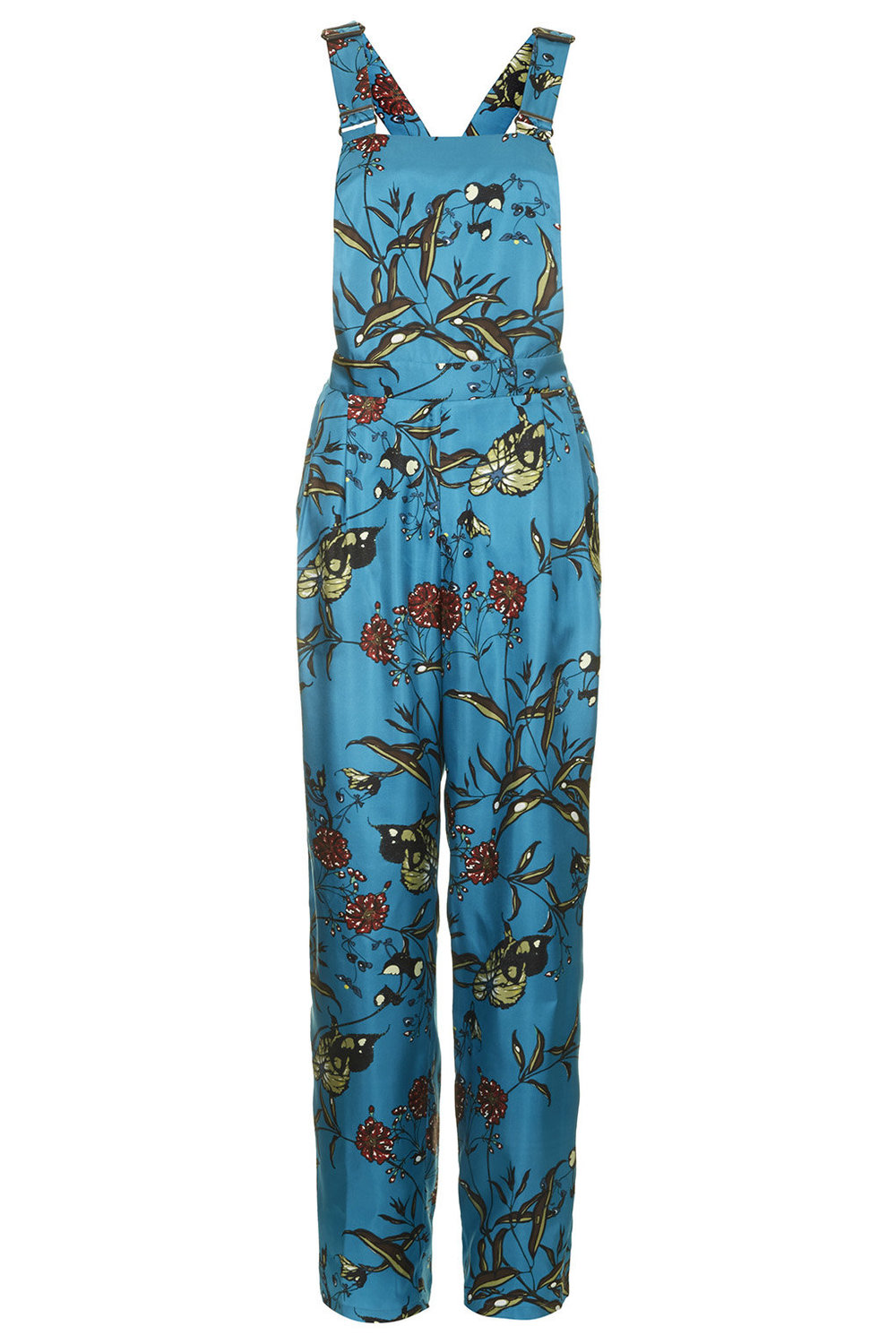 Topshop Fable Print Dungarees by Boutique. Topshop USA. $210.