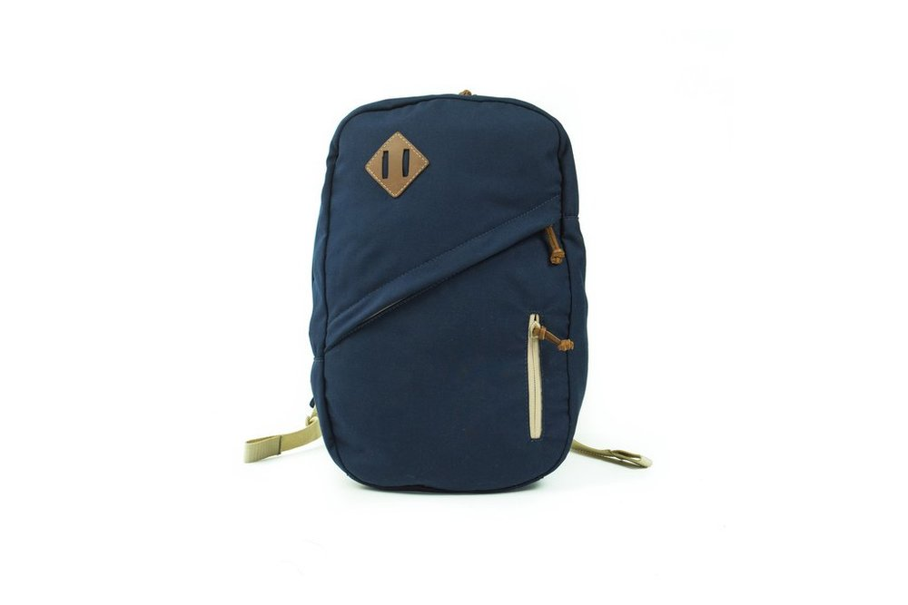 Blue Field Pack. Sword & Plough. $159. Made from military goods.