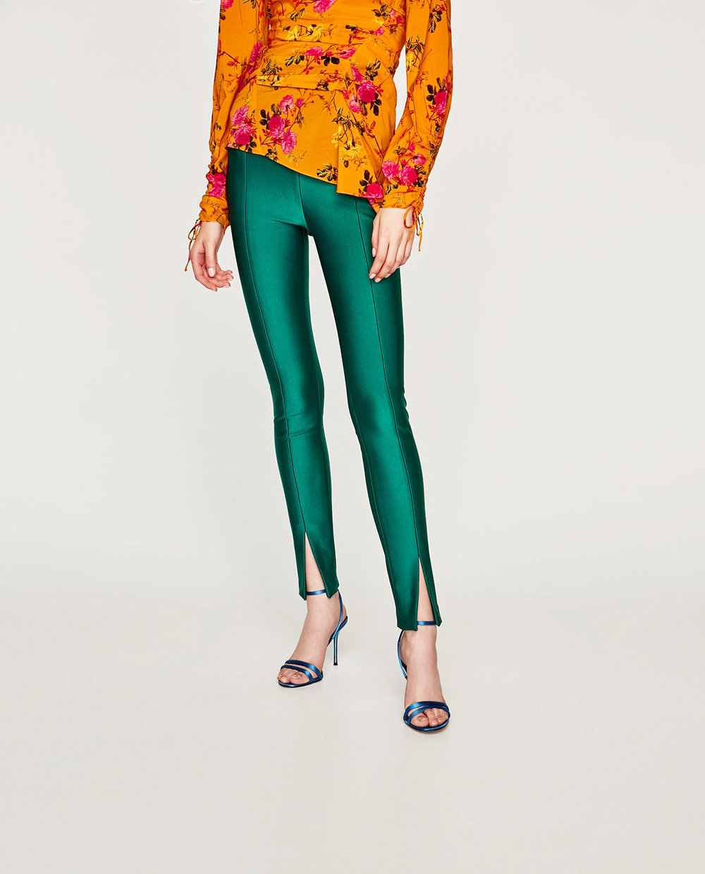 LEGGINGS WITH OPENING IN THE FRONT. Zara. $69.