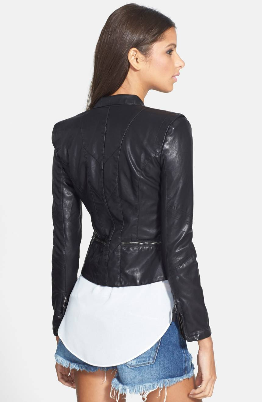 Blank NYC Faux Leather Jacket. Nordstrom. $98.
