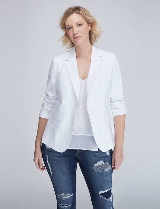 THE MODERNIST BLAZER. Lane Bryant. $59.