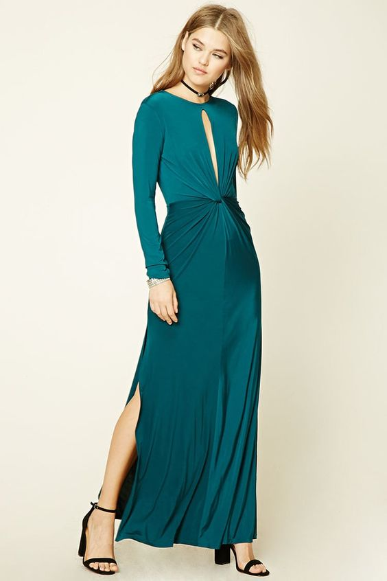 Twist-Front Maxi Dress. Forever 21. $22.