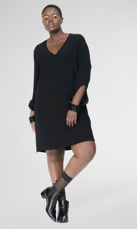 WELLAND DRESS. Universal Standard. $180.