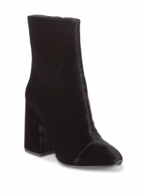 Ash  As-Flora Velvet Ankle Boots. Saks Off 5th. Was: $250. Now: $139.