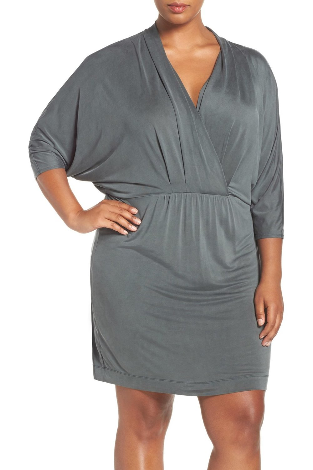 Tart Constance Batwing Sleeve Blouson Dress (Plus Size). Available in multiple colors. Nordstrom Rack. Was: $175. Now: $64.