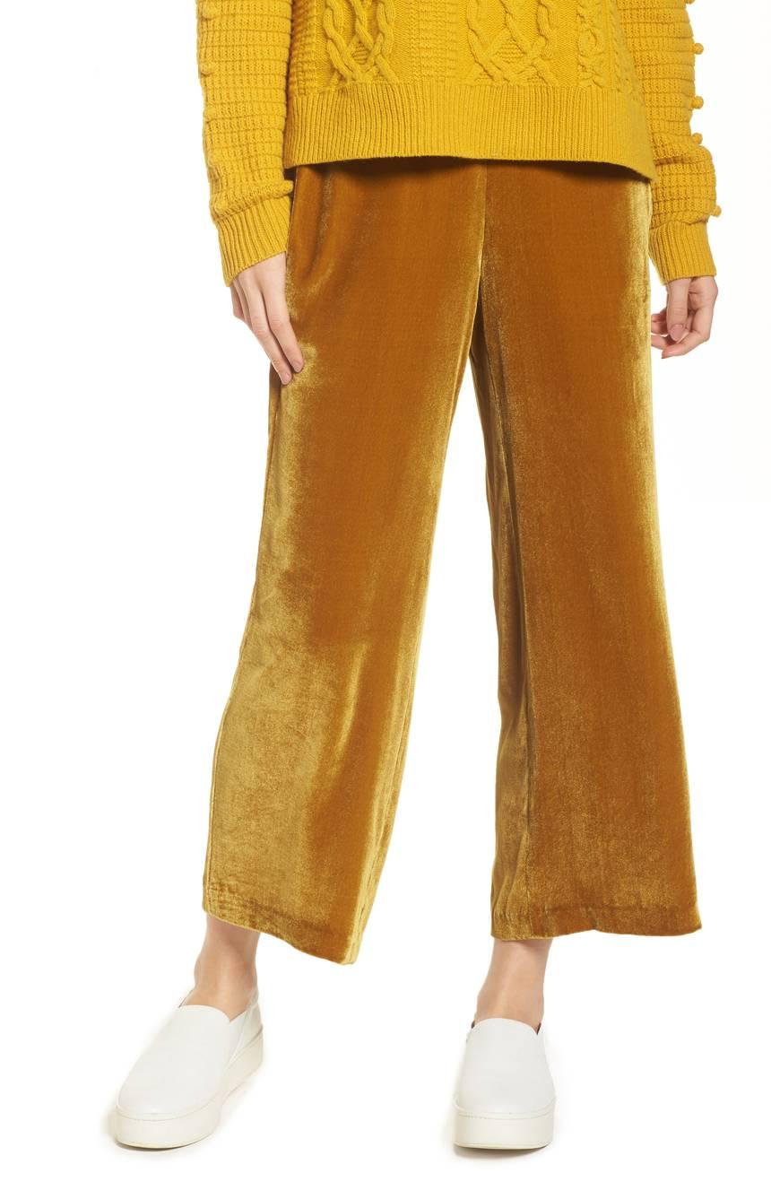 Madewell Velvet Pants. Nordstrom. $125.