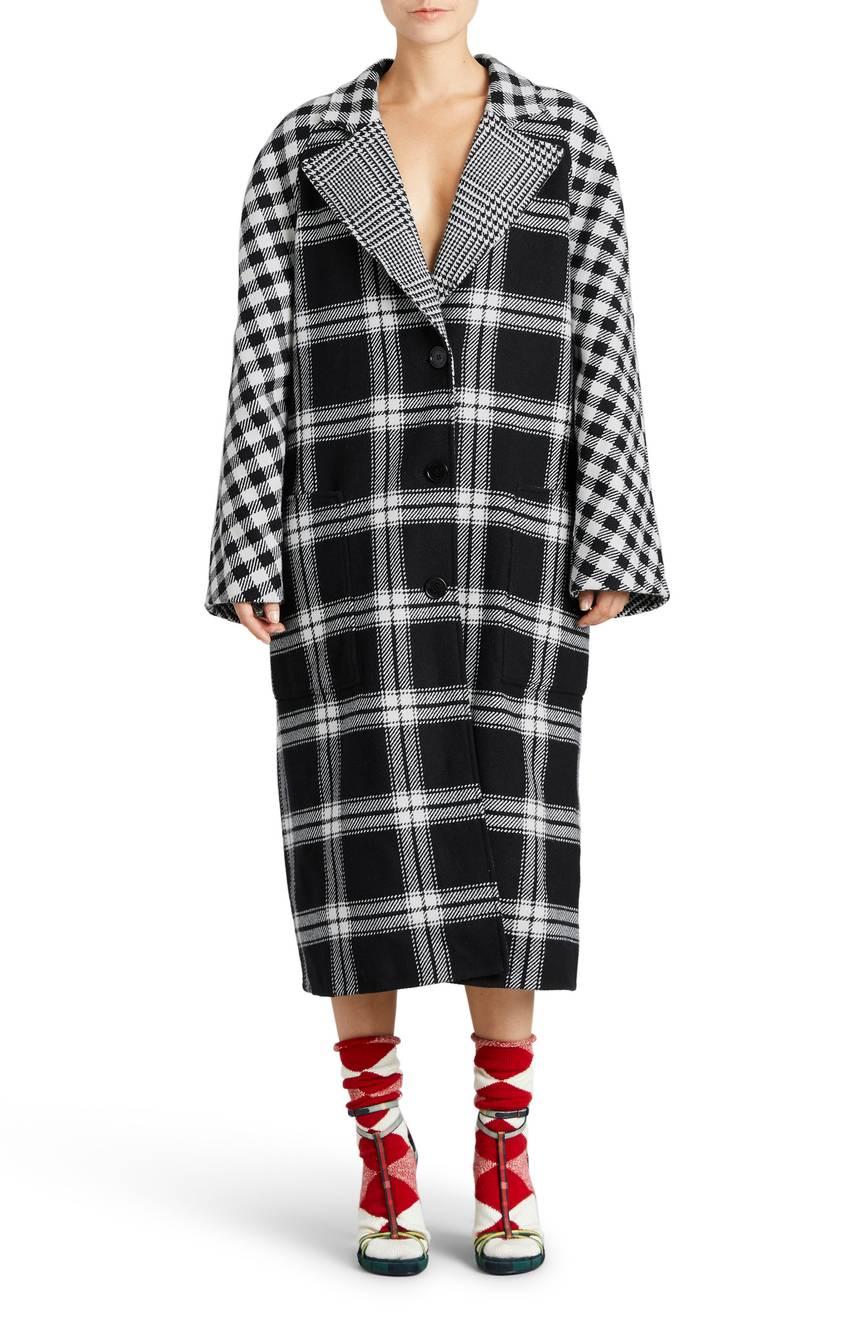 Burberry Tartan Wool & Cashmere Reversible Overcoat. Nordstrom. $2,995.