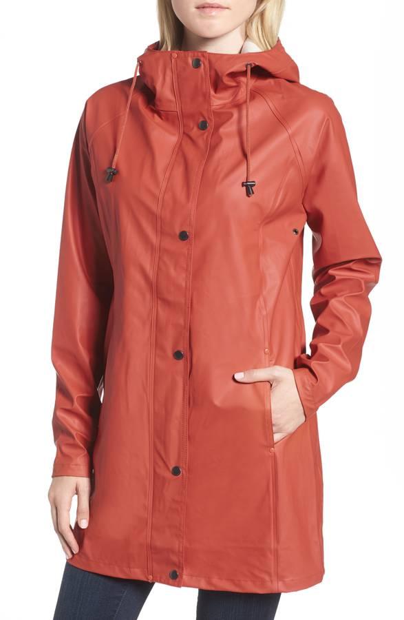 Illse Jacobsen Hornbaek Raincoat. Available in brick, yellow. Nordstrom. $179.